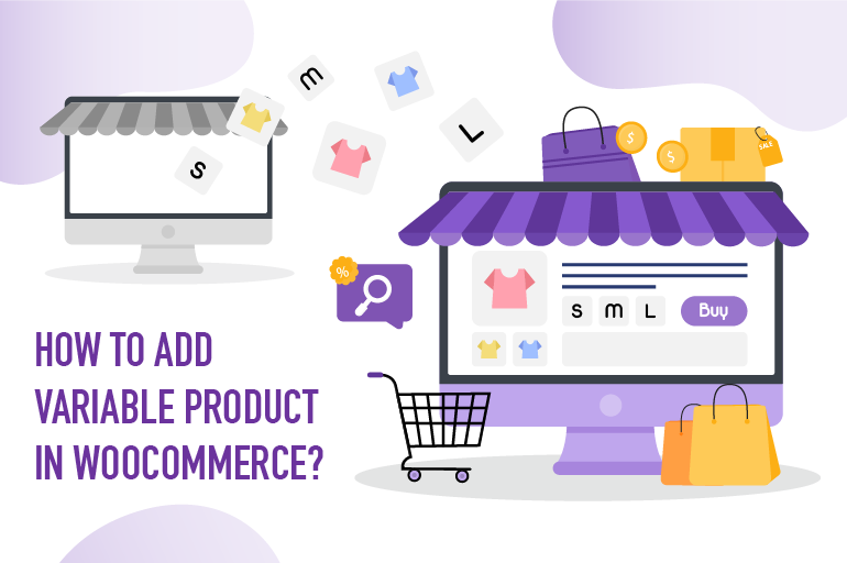 create woocommerce variable product