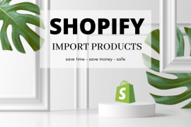 Shopify import products