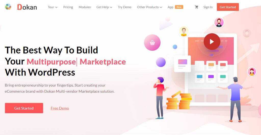 Dokan Multi-vendor marketplace